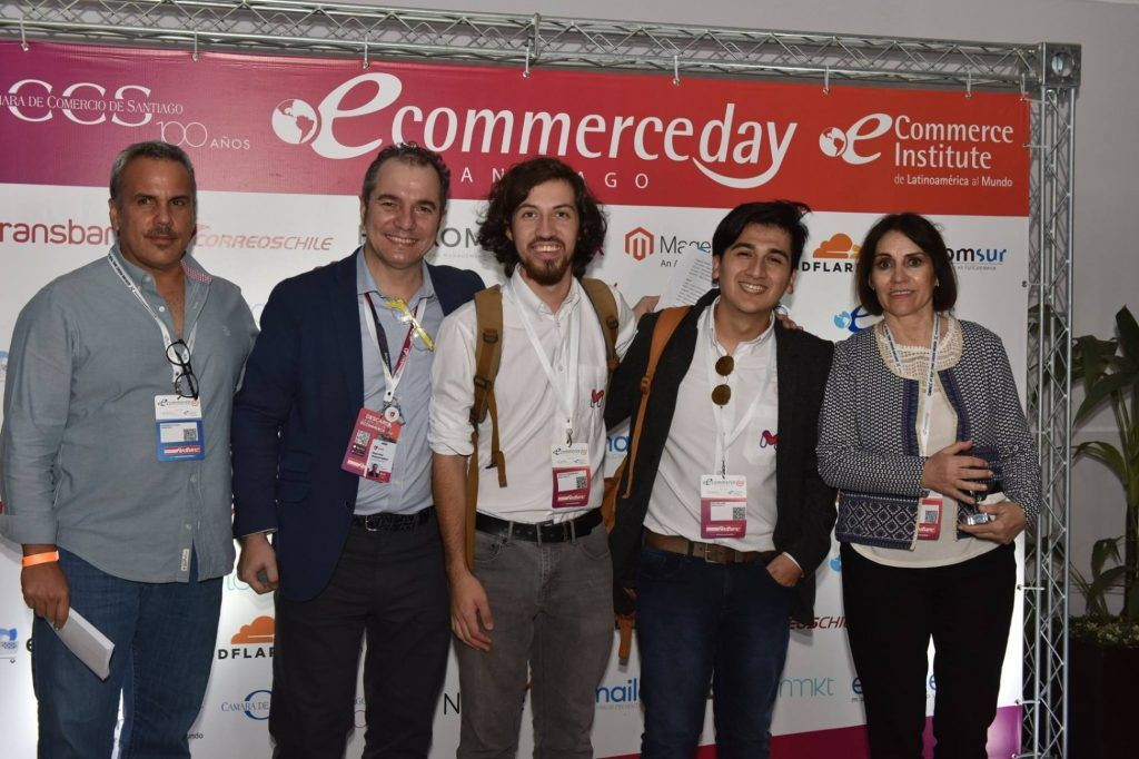 Midelivery - Nicolás Jara - Iheycuff Norambuena - Reconocimiento eCommerce Day 2019 Chile - Startup Competition